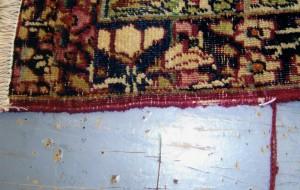 Carpet Binding Before